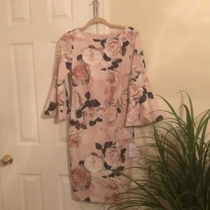 NWT Calvin Klein figure fitted dress